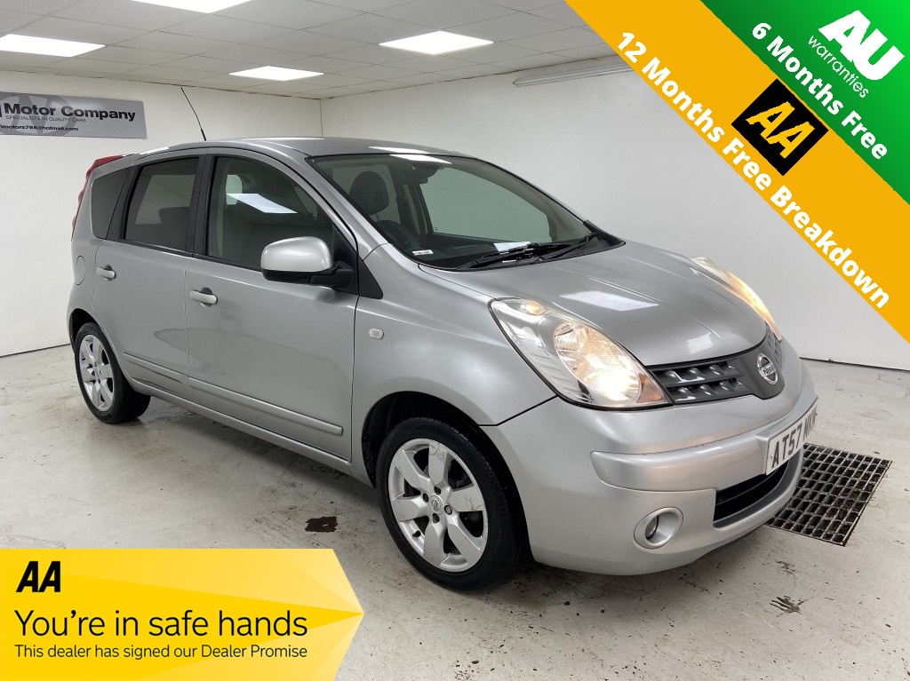 Used NISSAN NOTE 1.6 TEKNA 5DR AUTOMATIC in West Yorkshire
