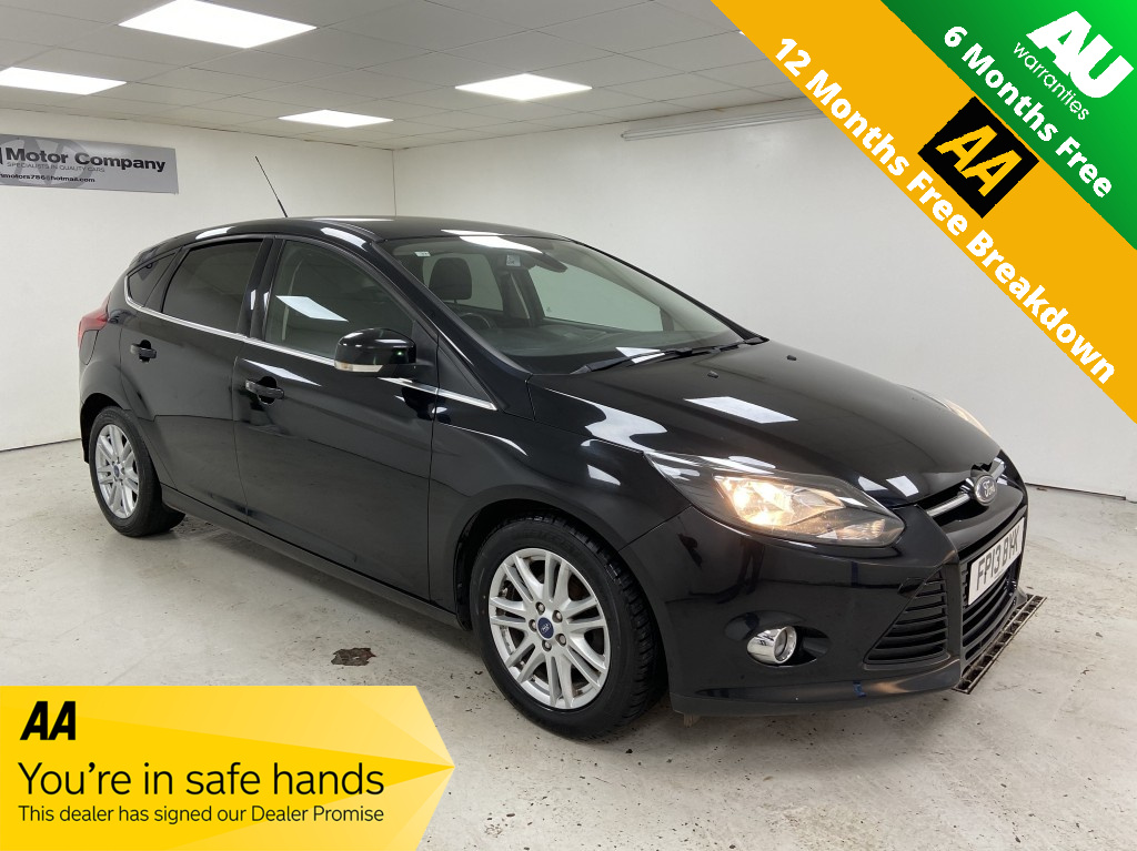 Used FORD FOCUS 1.6 TITANIUM TDCI 115 5DR in West Yorkshire
