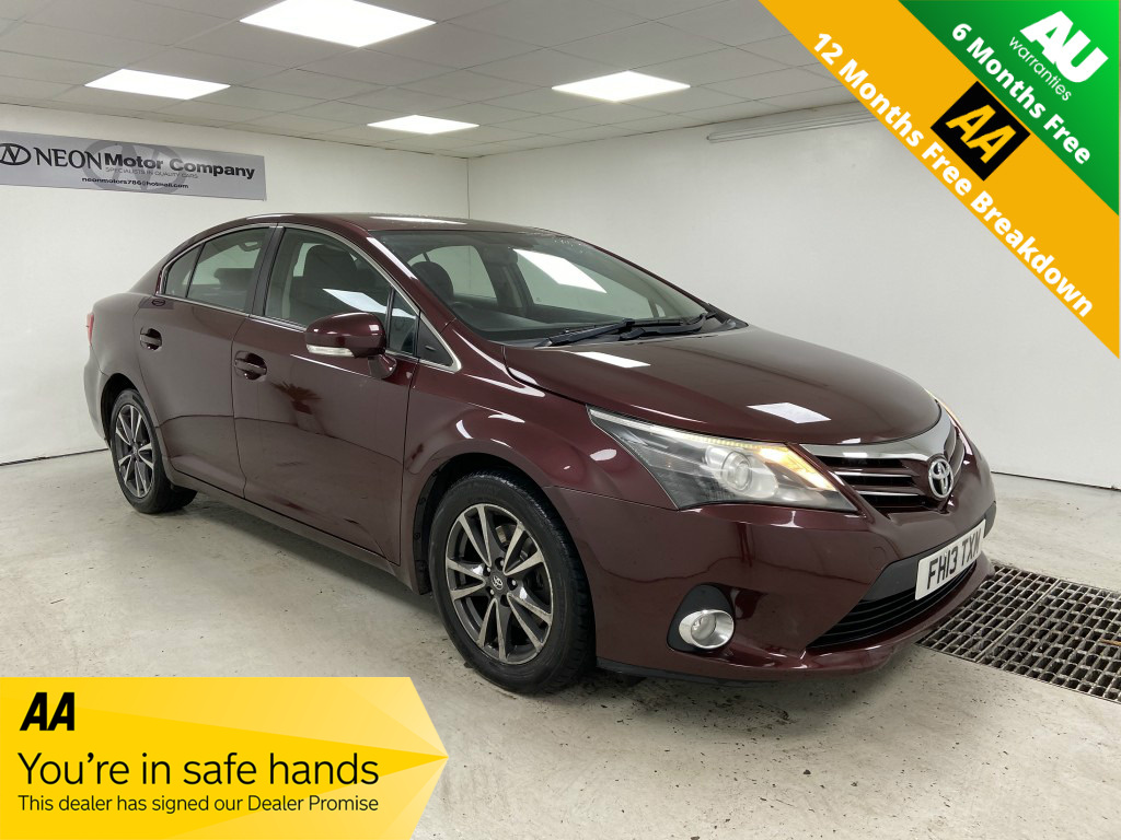 Used TOYOTA AVENSIS 2.2 D-CAT ICON 4DR AUTOMATIC in West Yorkshire