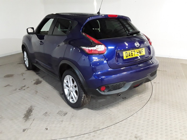NISSAN JUKE 1.6 N-CONNECTA XTRONIC 5DR CVT