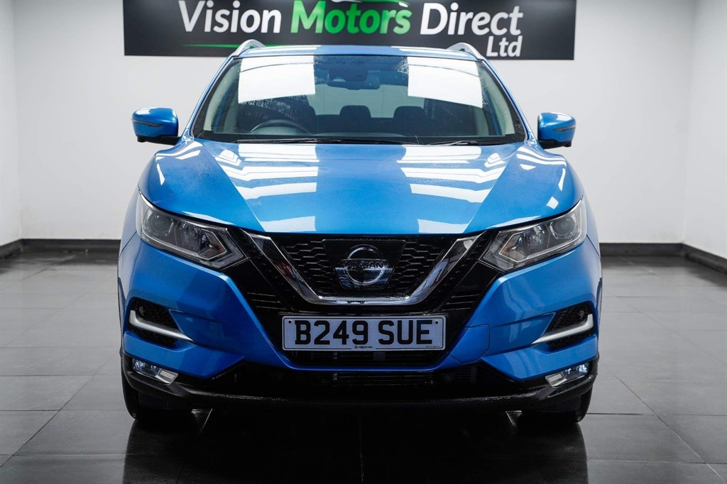 NISSAN QASHQAI DIG-T N-CONNECTA DCT 1.3 DIG-T N-CONNECTA DCT 5DR SEMI AUTOMATIC