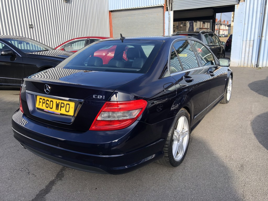 MERCEDES-BENZ C CLASS 2.1 C250 CDI BLUEEFFICIENCY SPORT 4DR AUTOMATIC