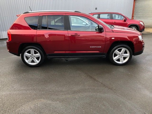 JEEP COMPASS 2.1 CRD LIMITED 2WD 5DR