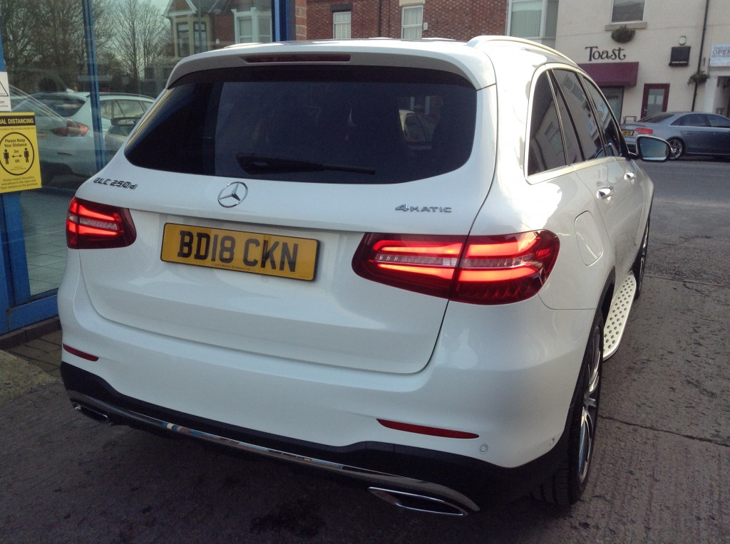 MERCEDES-BENZ GLC 2.1 GLC 250 D 4MATIC AMG LINE PREMIUM PLUS 5DR AUTOMATIC