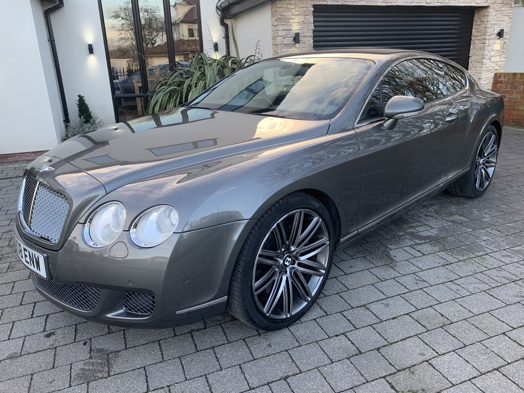 BENTLEY CONTINENTAL GT 6.0 GT SPEED 2DR AUTOMATIC