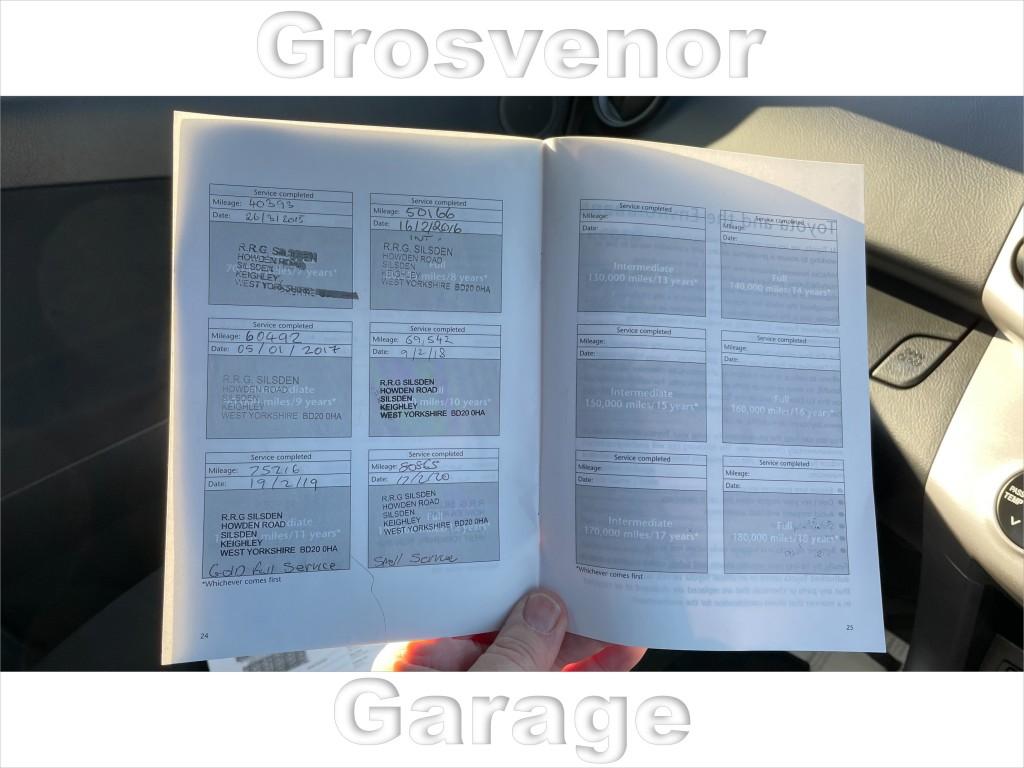 TOYOTA RAV 4 2.0 VVTI XTR 5DR AUTOMATIC