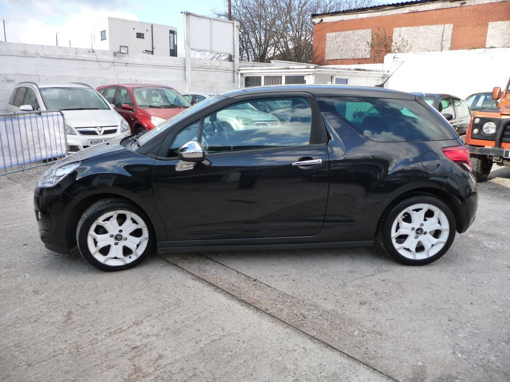 CITROEN DS3 1.6 HDI BLACK AND WHITE 3DR