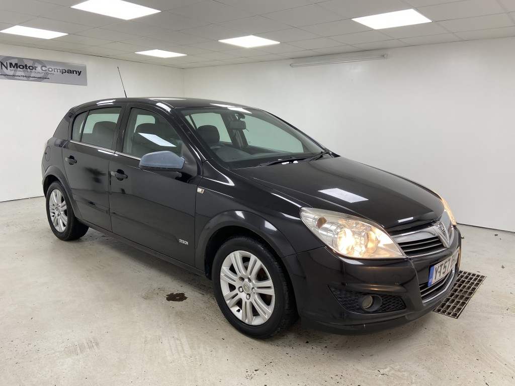 Used VAUXHALL ASTRA 1.6 DESIGN 5DR in West Yorkshire