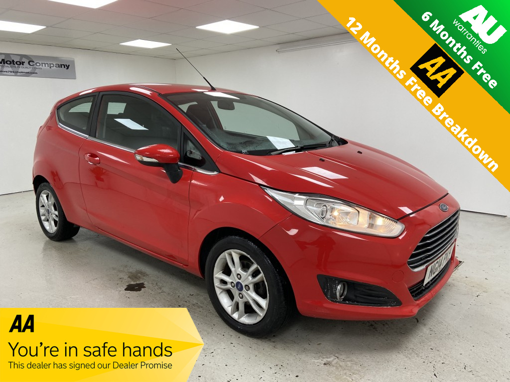 Used FORD FIESTA 1.0 ZETEC 3DR in West Yorkshire
