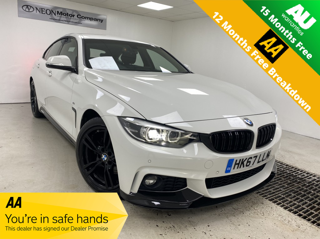 Used BMW 4 SERIES 2.0 430I M SPORT GRAN COUPE 4DR AUTOMATIC in West Yorkshire
