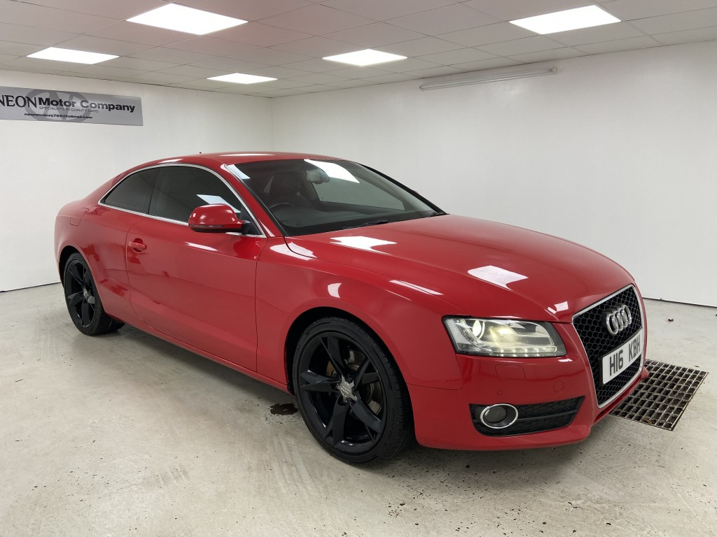 Used AUDI A5 2.0 TFSI QUATTRO SPORT 3DR in West Yorkshire
