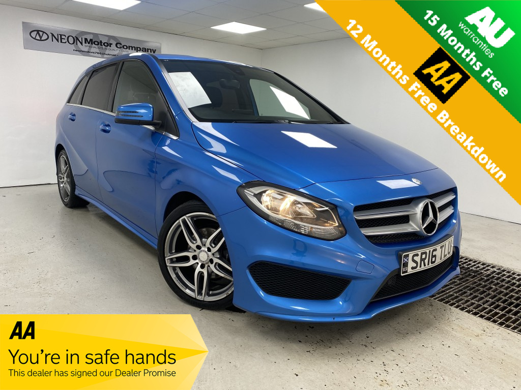 Used MERCEDES-BENZ B-CLASS DIESEL MPV 2.0 B 200 D AMG LINE 5DR SEMI AUTOMATIC in West Yorkshire