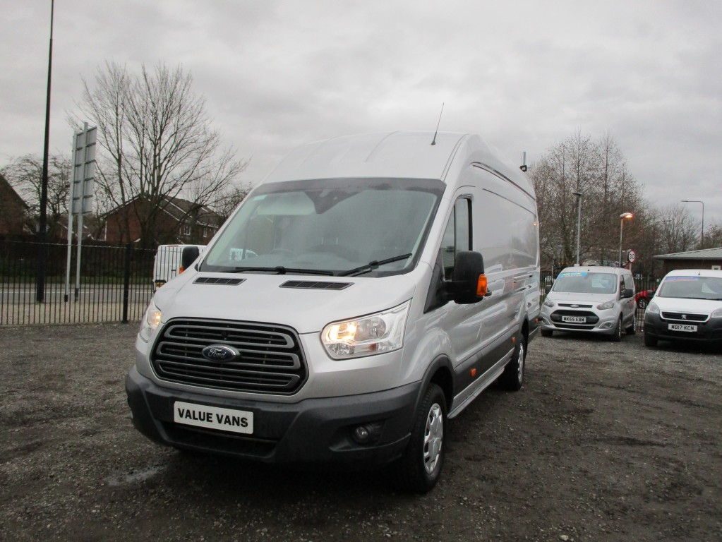 FORD TRANSIT TREND L4 H3 JUMBO 2.0 350 - CRUISE CONTROL - ONE OWNER - FSH
