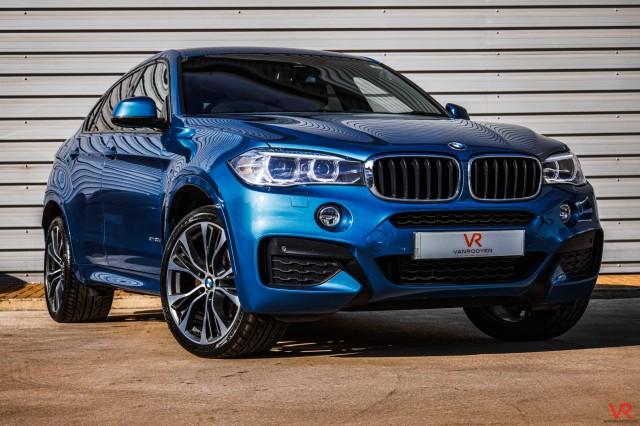 2018 (18) BMW X6 3.0 XDRIVE30D M SPORT EDITION 4DR AUTOMATIC | <em>33,652 miles