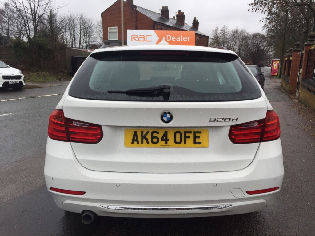 BMW 3 SERIES 2.0 320D LUXURY TOURING 5DR