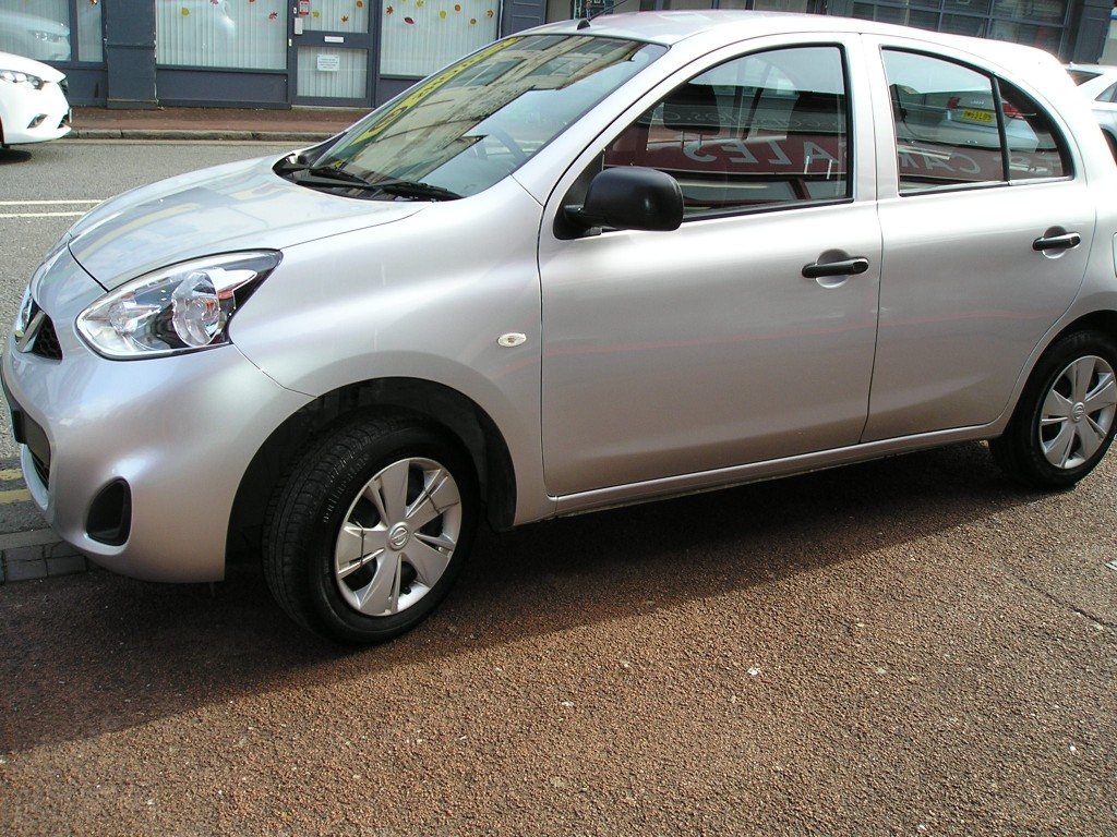 NISSAN MICRA 1.2 VISIA 5DR YES 20K ONLY