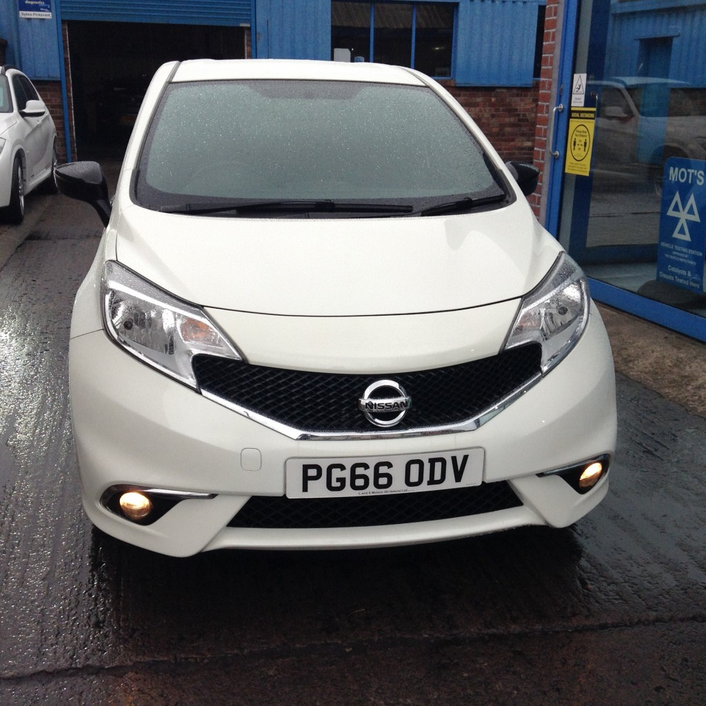 NISSAN NOTE 1.2 BLACK EDITION 5DR