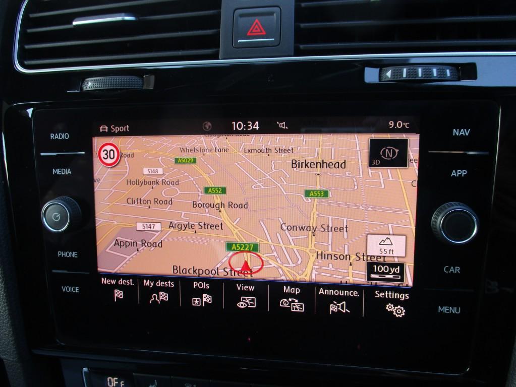 VOLKSWAGEN GOLF 2.0 GTD TDI DSG 5DR AUTOMATIC