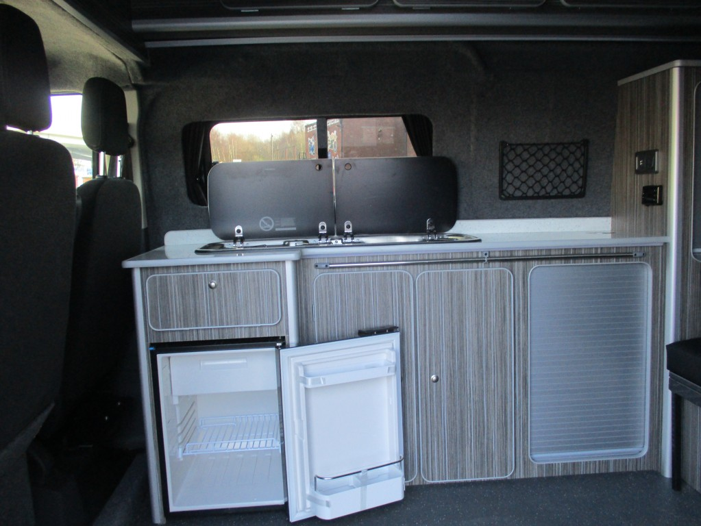 FORD TRANSIT CUSTOM DIESEL PANEL VAN LIMITED CAMPER VAN