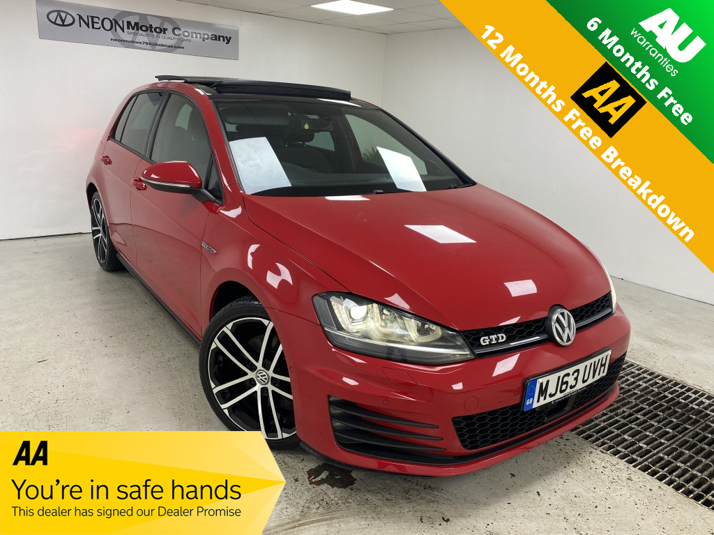 Used VOLKSWAGEN GOLF 2.0 GTD DSG 5DR SEMI AUTOMATIC in West Yorkshire