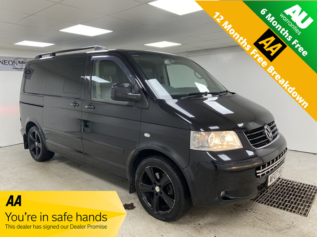 Used VOLKSWAGEN CARAVELLE 2.5 EXECUTIVE TDI 5DR AUTOMATIC in West Yorkshire