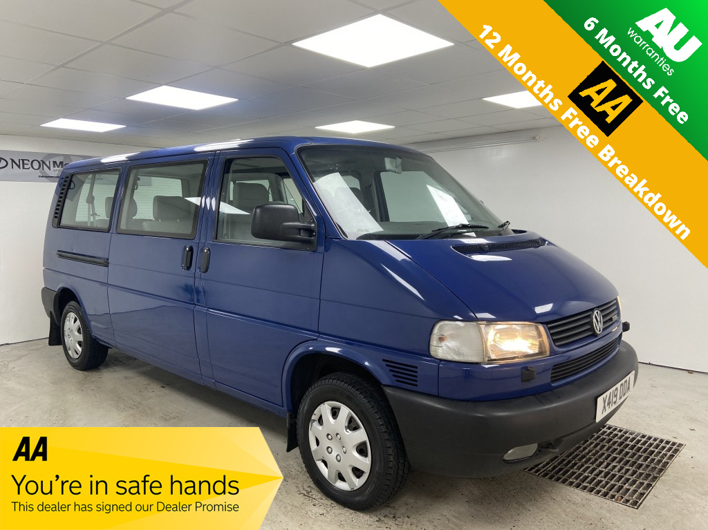 Used VOLKSWAGEN CARAVELLE 2.5 SE TDI 5DR AUTOMATIC in West Yorkshire