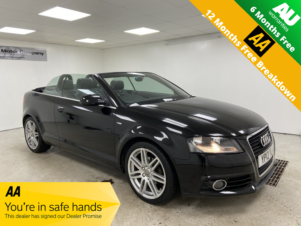 Used AUDI A3 1.8 TFSI S LINE 2DR in West Yorkshire