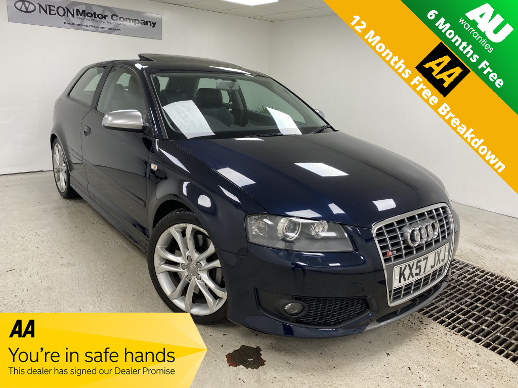 Used AUDI A3 2.0 S3 TFSI QUATTRO 3DR in West Yorkshire
