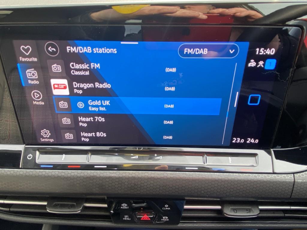 VOLKSWAGEN GOLF GTI TSI DSG 2.0 GTI TSI DSG 5DR SEMI AUTOMATIC