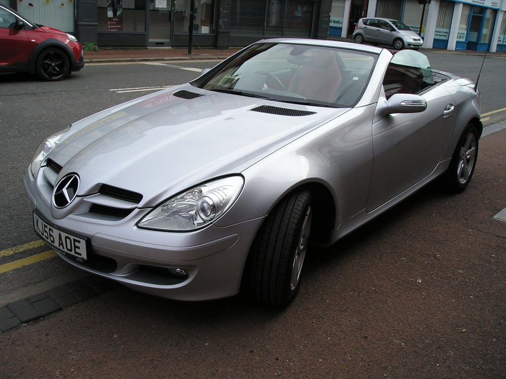 MERCEDES-BENZ SLK 3.0 SLK280 2DR AUTOMATIC YES 39K ONLY