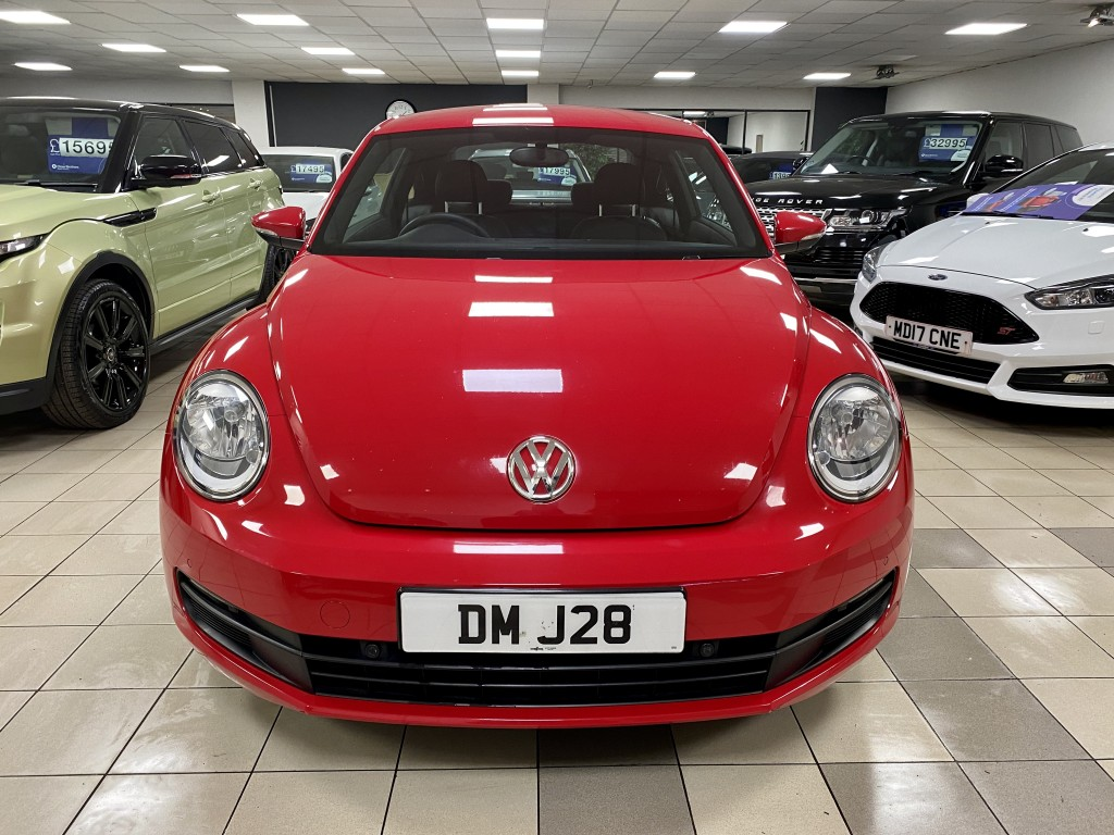 VOLKSWAGEN BEETLE 1.6 TDI BLUEMOTION TECHNOLOGY 3DR