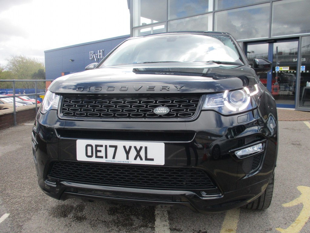 LAND ROVER DISCOVERY SPORT 2.0 TD4 HSE DYNAMIC LUX 5DR AUTOMATIC