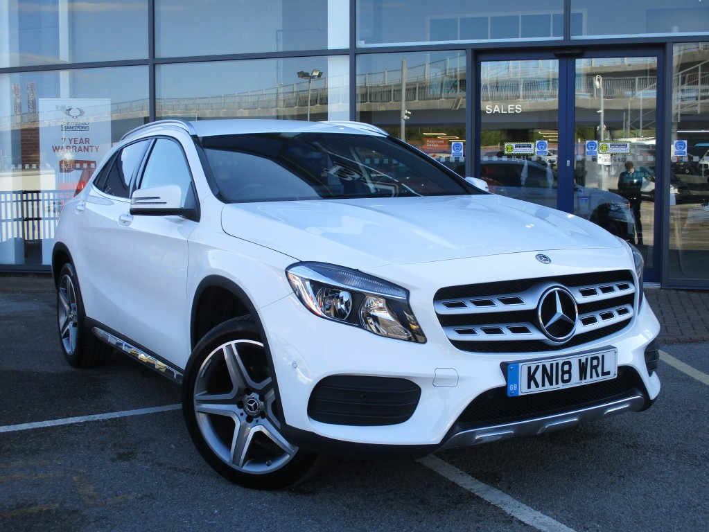 MERCEDES-BENZ GLA 1.6 GLA 200 AMG LINE EXECUTIVE 5DR