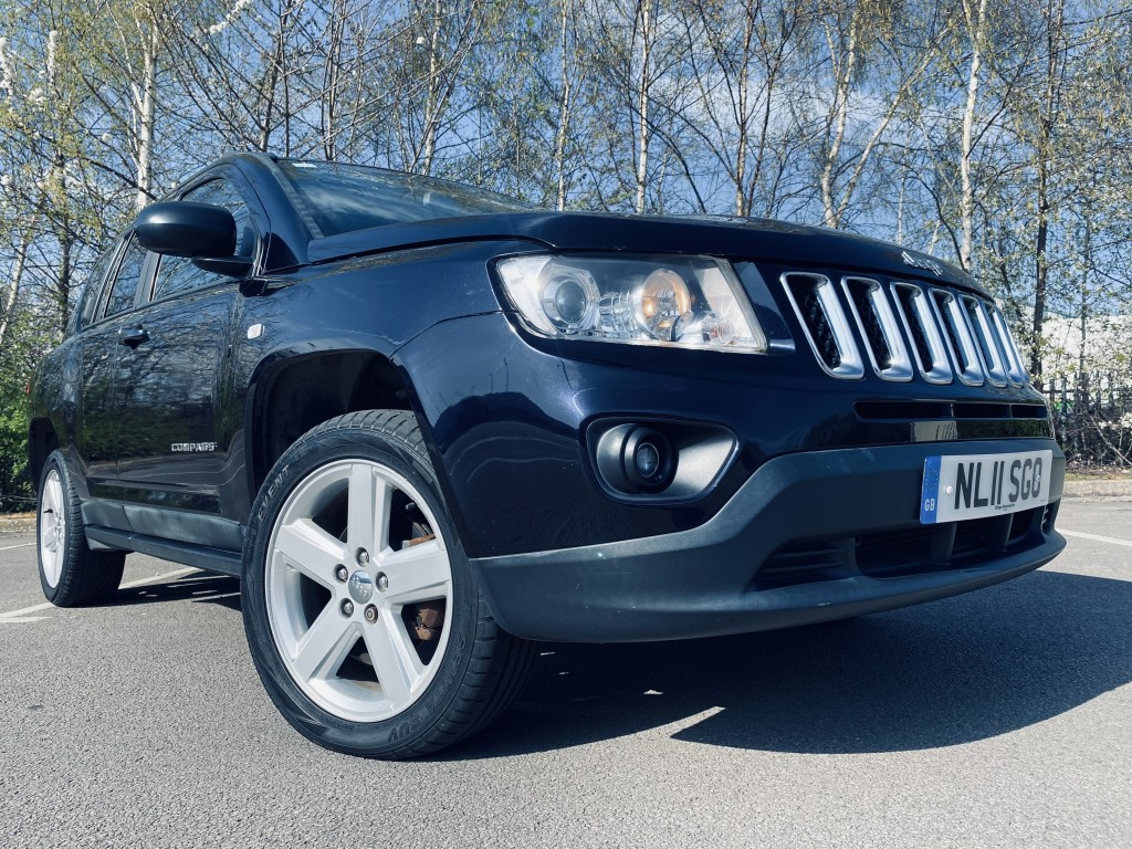 JEEP COMPASS 2.1 CRD LIMITED 4WD 5DR