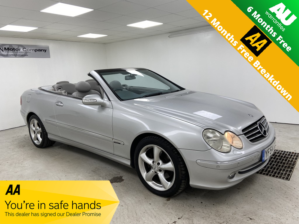 Used MERCEDES-BENZ CLK 3.2 CLK320 AVANTGARDE 2DR AUTOMATIC in West Yorkshire