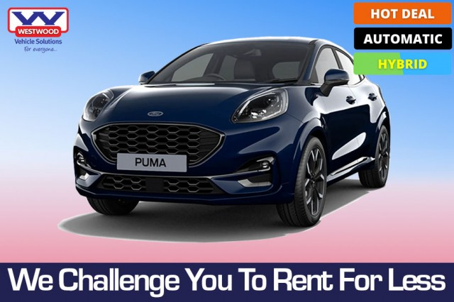 FORD PUMA HATCHBACK 1.0 ST-LINE X 5DR AUTOMATIC in Wigan