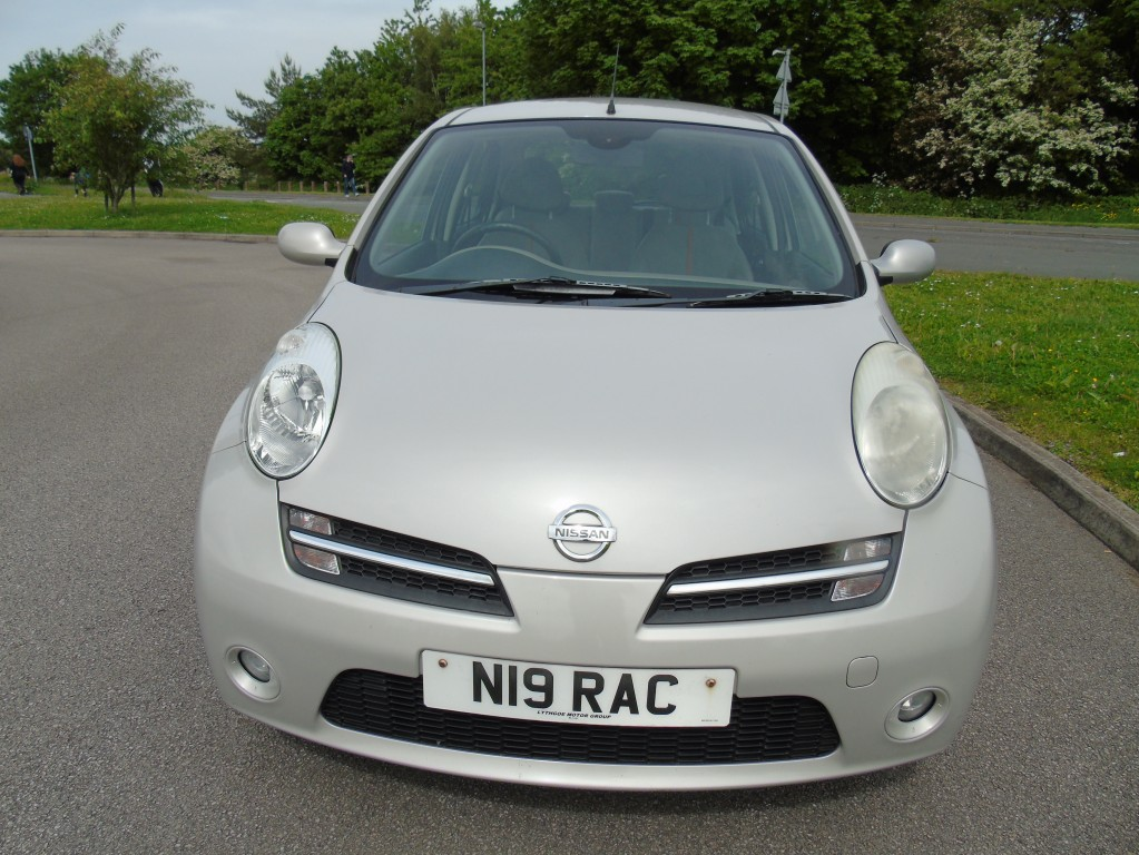 NISSAN MICRA 1.4 ACTIVE LUXURY 5DR AUTOMATIC