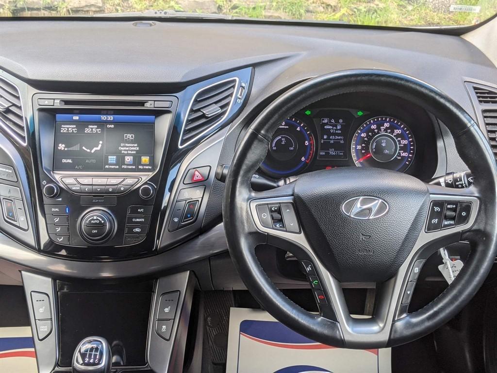 HYUNDAI I40 1.7 CRDI SE NAV BLUE DRIVE 4DR