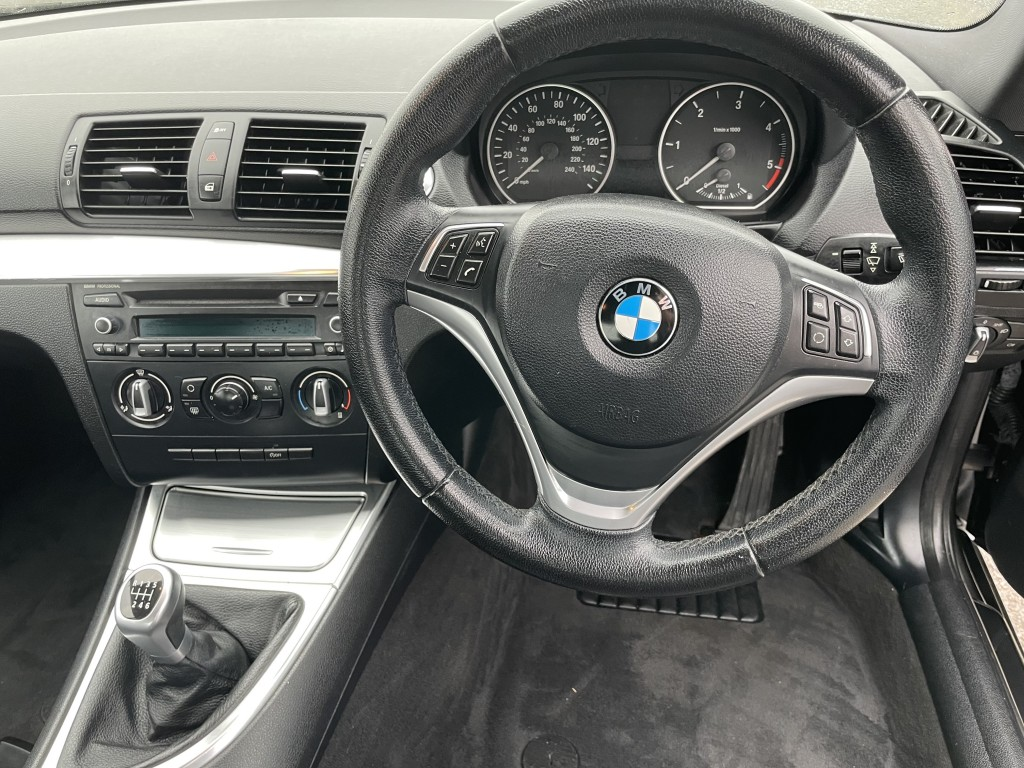 BMW 1 SERIES 2.0 118D EXCLUSIVE EDITION 2DR