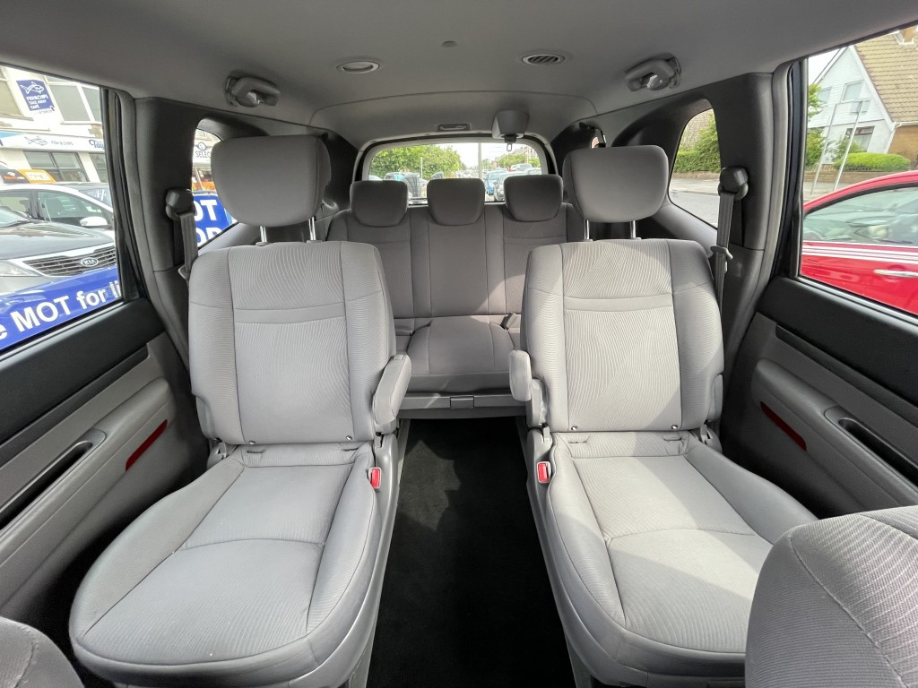 SSANGYONG RODIUS TURISMO 2.0 S 5DR