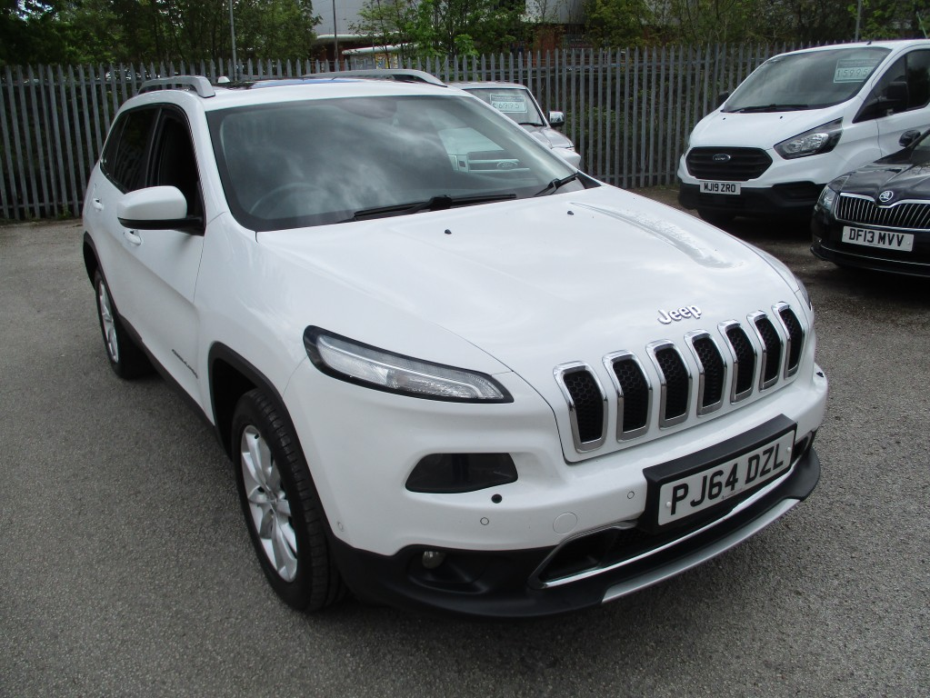 JEEP CHEROKEE 2.0 M-JET LIMITED 5DR