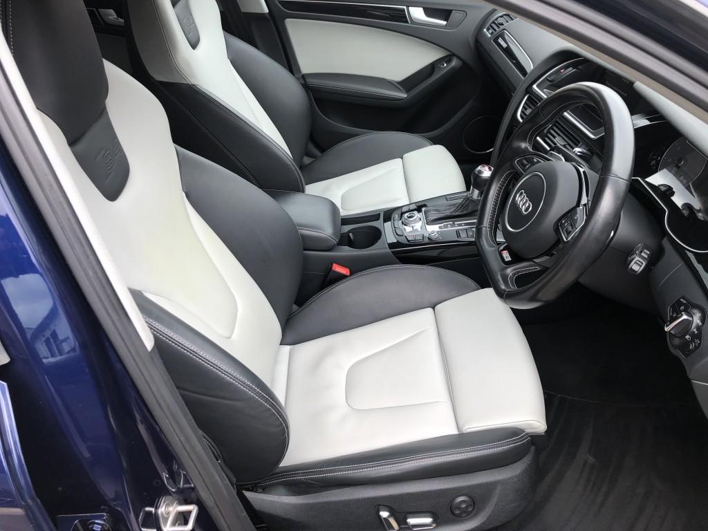 AUDI A4 3.0 S4 AVANT QUATTRO BLACK EDITION 5DR AUTOMATIC
