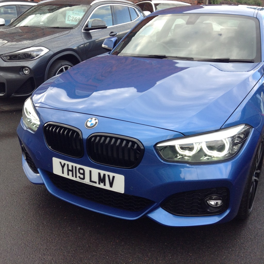BMW 1 SERIES 2.0 120D M SPORT SHADOW EDITION 3DR AUTOMATIC