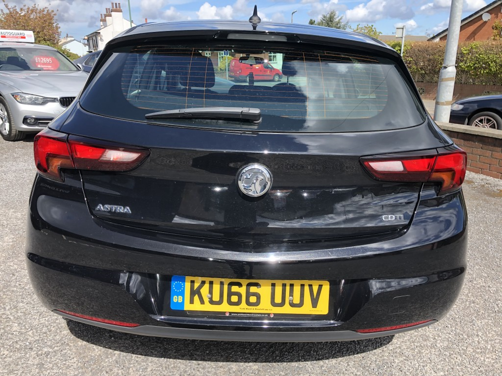 VAUXHALL ASTRA 1.6 TECH LINE CDTI 5DR