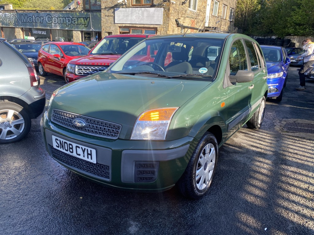 Used FORD FUSION 1.4 STYLE 5DR in West Yorkshire
