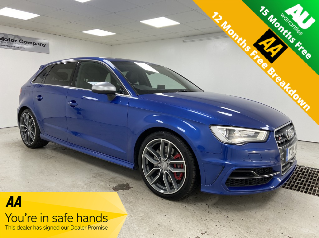 Used AUDI A3 2.0 S3 SPORTBACK QUATTRO 5DR SEMI AUTOMATIC in West Yorkshire