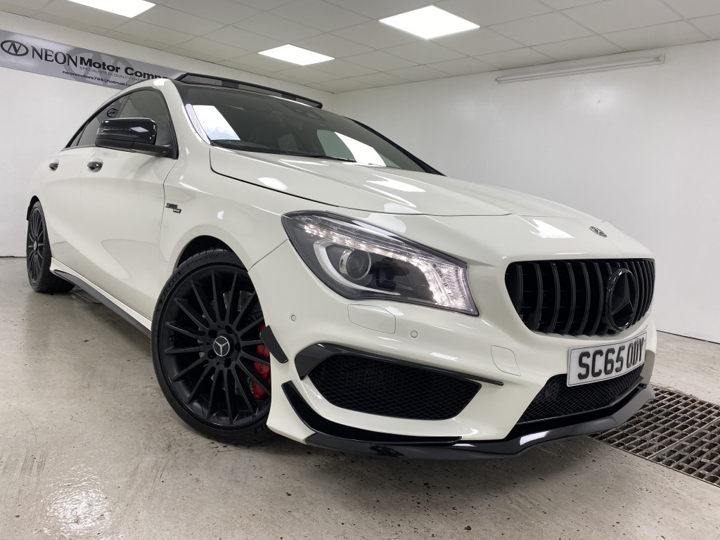 MERCEDES-BENZ CLA 2.0 AMG CLA 45 4MATIC 4DR SEMI AUTOMATIC