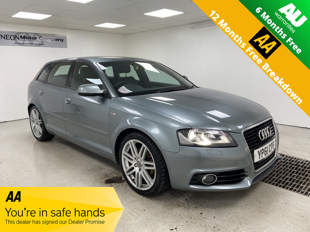 Used AUDI A3 2.0 SPORTBACK TDI S LINE 5DR in West Yorkshire