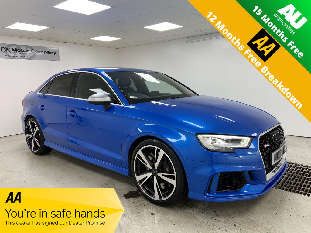 Used AUDI A3 2.5 RS 3 QUATTRO 4DR SEMI AUTOMATIC in West Yorkshire
