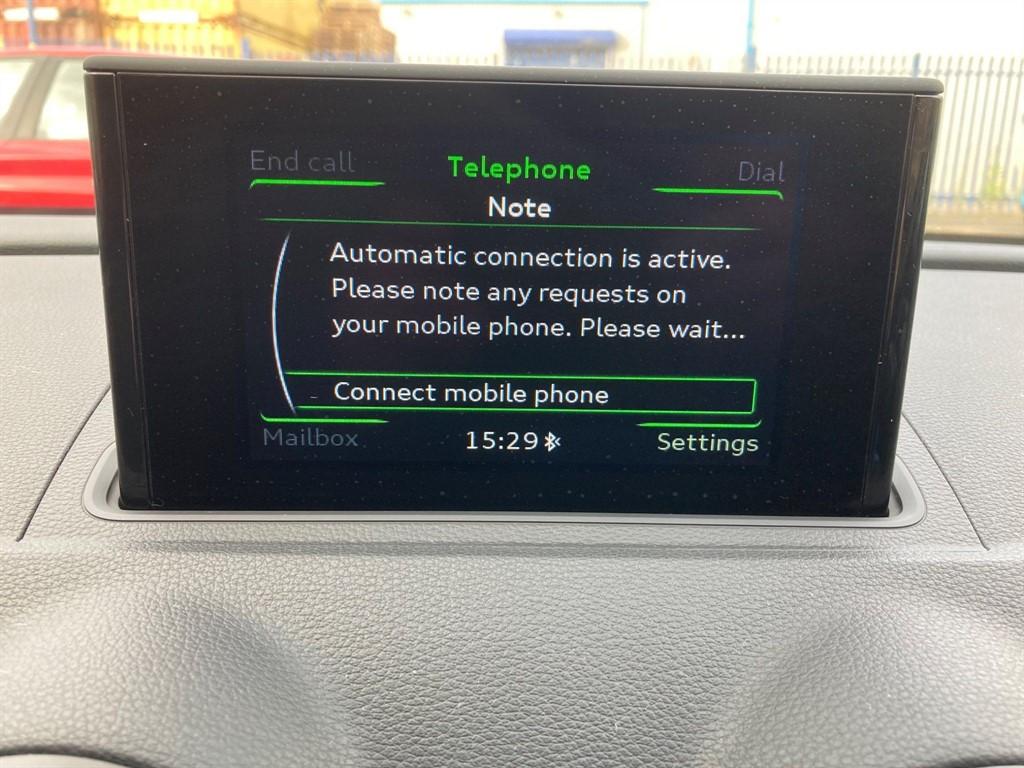 AUDI A3 1.6 TDI SE TECHNIK 3DR SEMI AUTOMATIC